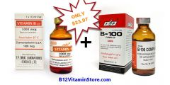 Image of Vitamin B12 1000mcg and B100 B-Complex 10ml vial injection Special offer by B12 Vitamin Store