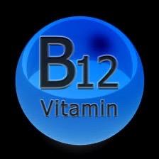 Vitamin B12 blue image